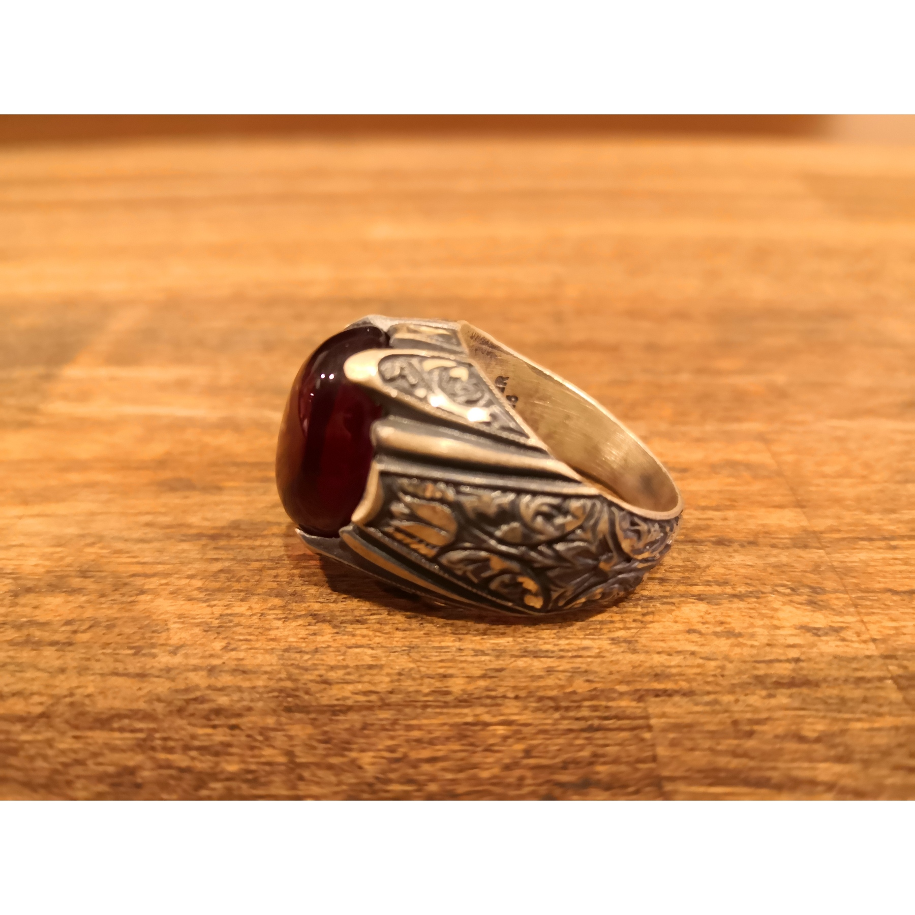 Sterling Silver 925 Sterling Tightening  Amber Ring Handmade Turkey Ring Mens Ring Womens Ring Quality Workmanship Jewelry