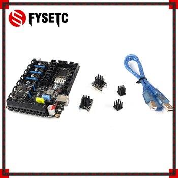 S6 V1.2 Board 32 Bit Control Board WIth Stepper Motor Driver 4pcs TMC5161 V1.0 SPI Flying Wire MX Connector VS F6 V1.3 SKR V1.3 фото