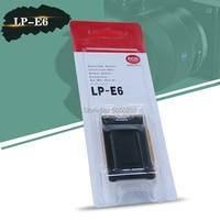 7.2v 1800mAh LP-E6 LP E6 LPE6 Batterij Voor Canon EOS 5D Mark II III IV EOS 5DS 5DSR 6D 7D 7D Mark II 60D 60Da 70D 80D BG-E6