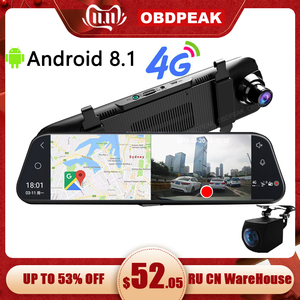 Android 8.1 4G Car DVR 10