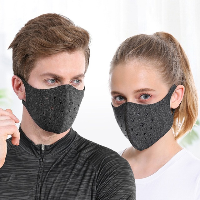 Reusable Cotton Mouth Mask Anti-Dust Fashion Face Masks Washable Masks for Adult Men Women Cycling Motorcycle