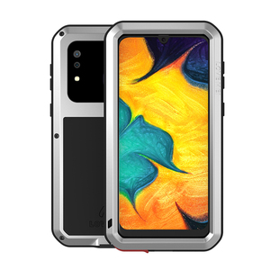 Image 2 - Love Mei Metal Case For Samsung Galaxy A30 A20 Armor Shockproof Phone Cover For Samsung A30 A20 Rugged Full Body Anti Fall Case