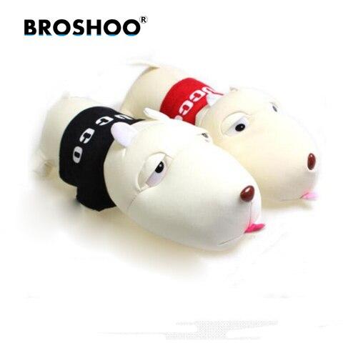 broshoo estilo do carro acessorios dos desenhos animados longo lingua cao odor de bambu carvao