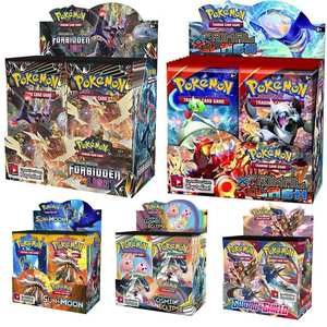 Pokemon-Card 36-Bags-Collection Game-A-Box 324pcs of Unified Minds Tcg:Sun--Moon