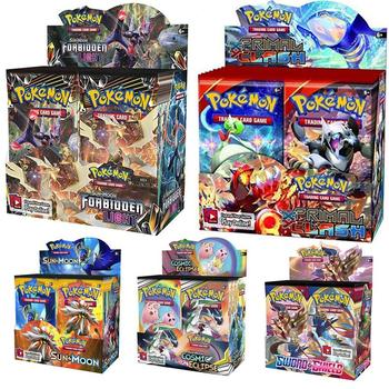 324pcs Pokemon card TCG: Sun & Moon Unified Minds Trading Card Game A Box of 36 Bags Collection 1