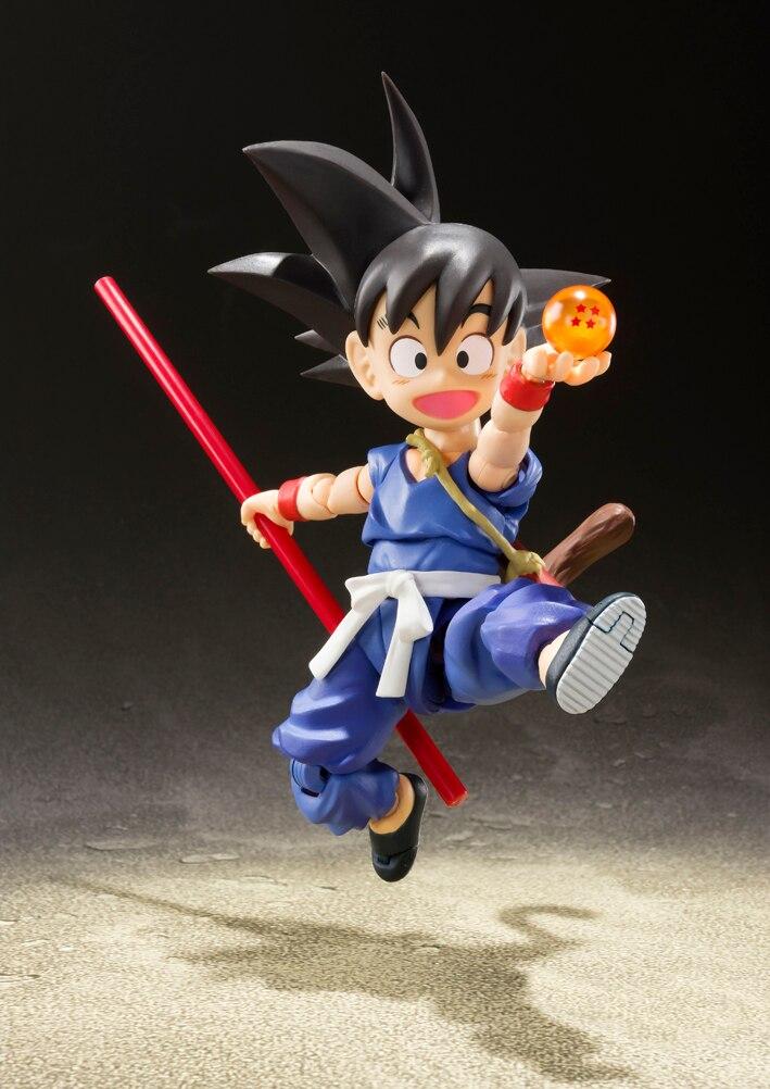 """BANDAI Tamashii Nations S. h. figuarts (SHF) Action Figure Son Goku ในวัยเด็ก กิจกรรมพิเศษสี Edition """"Dragon Ball""""-ใน ฟิกเกอร์แอคชันและของเล่น จาก ของเล่นและงานอดิเรก บน   2"""
