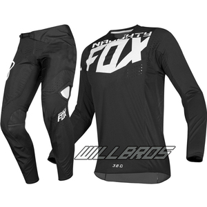 Delicate Fox MX ATV Dirt 360 Kila Jersey Pants Motocross Motorcycle Street Moto Racing Riding Gear Set Men's Suit