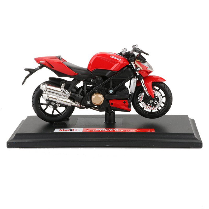 Maisto 1/18 1:18 Scale Ducati Mod. Streetfighter S Motorcycles Motorbikes Diecast Display Models Birthday Gift Toy For Boys Kids