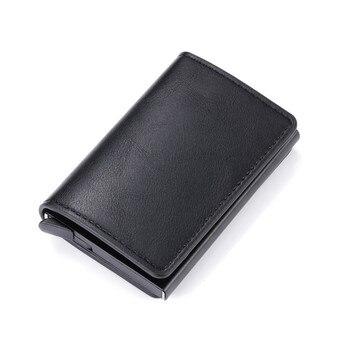 Μοντέρνο Card Holder με RFID Blocking σε διάφορα χρώματα Αξεσουάρ MSOW