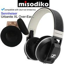 Misodiko Replacement Ear Pads สำหรับ Sennheiser Urbanite XL Wireless/Wired, ชิ้นส่วนซ่อมหูฟังแผ่นรองหูฟังชุด