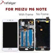 Trafalgar Display für Meizu M6 Note LCD Display Touch Screen Für Meizu M6 Hinweis Display Mit Rahmen M721H M721Q Ersatz