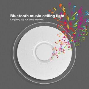 Image 5 - Moderno led luzes de teto iluminação para casa 25 w 36 52 app bluetooth música luz lâmpadas quarto lâmpada do teto inteligente