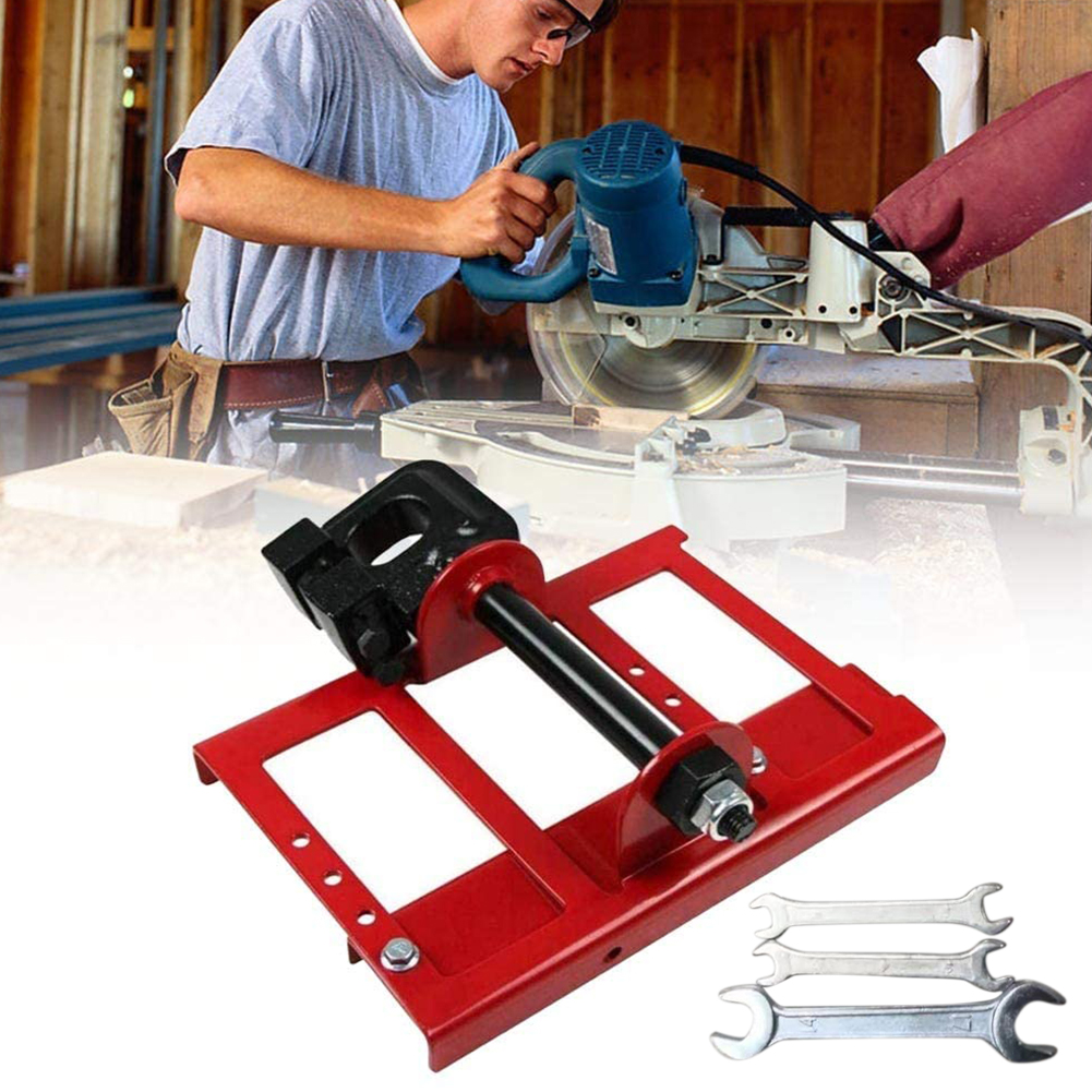 Timber Vertical Chainsaw Mill Construction Accessories Mini Portable Lumber Cutting Open Frame Steel Guide Bar Attachment