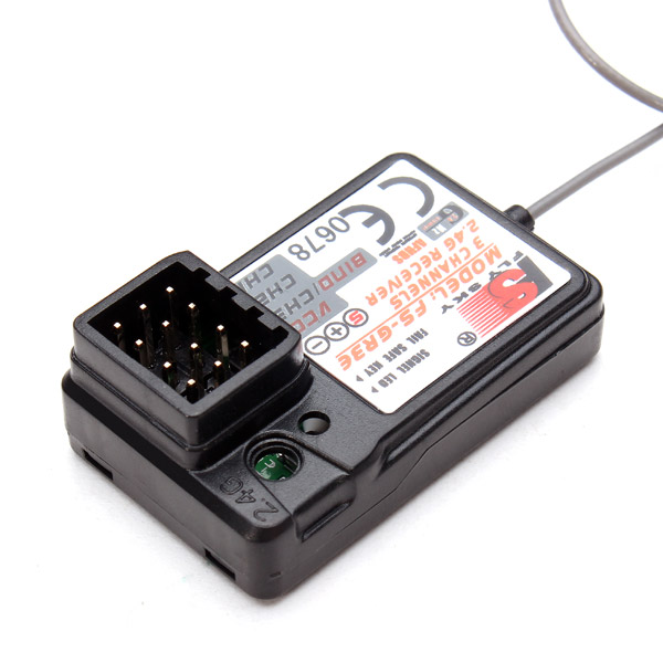 FLYSKY FS-GR3E GR3E Receiver For GT2 GT2B GT3 GT3B GT3C T6 CT6B GR3E TH9X Transmitter Remote Controller