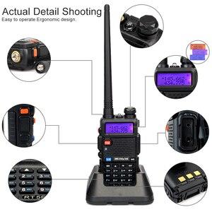 Image 5 - Retevis RT5R Walkie Talkie 4pcs USB Charger Radio Station 5W 128CH VHF UHF Dual Band FM Radio Two way Radio Portable Comunicador