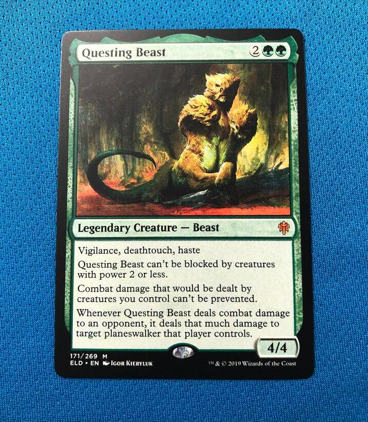 Questing Beast ELD Hologram Magician ProxyKing 8.0 VIP The Proxy Cards To Gathering Every Single Mg Card.