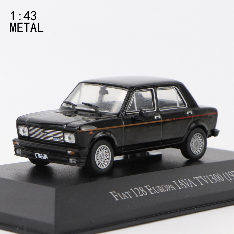 1:43  IXO FIAT 128 EUROPA IAVA  TV1300(1978) METAL CAR PERFECT SIZE AND WEIGHT
