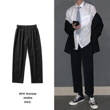 Мужские брюки в западном стиле, повседневные брюки, мужские деловые хлопковые формальные брюки, брюки, костюм для отдыха, брюки, большие размеры M-5XL