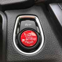 Car Start Stop Engine Push Switch Buttons Trim for BMW F30 F10 F34 F15 F25 F48 X1 X3 X4 X5 Keyless Start Button Cover Case Shell