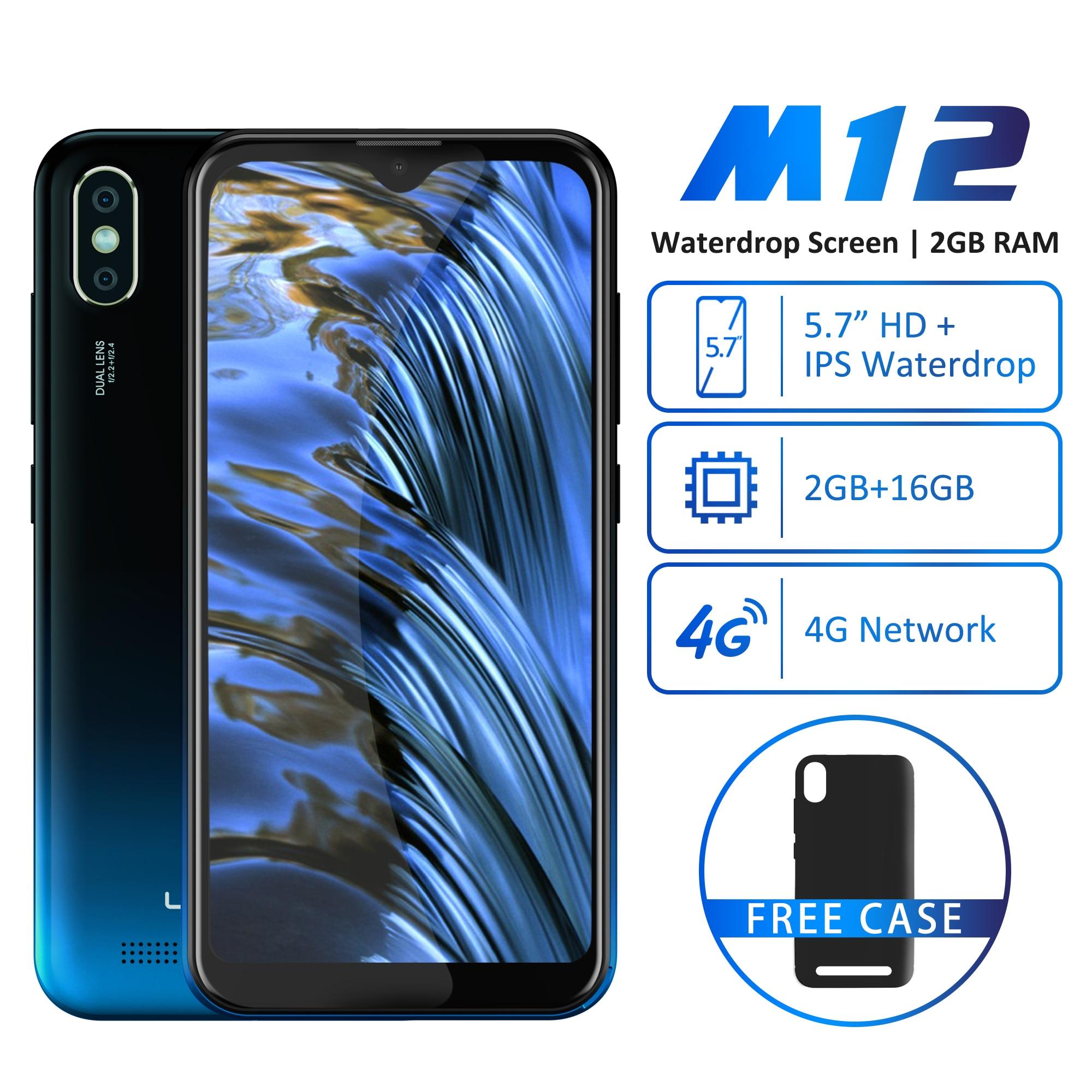 Фото. Мобильный телефон LEAGOO M12 5,7 дюйм HD + экран капли воды 2 Гб ОЗУ 16 Гб ПЗУ MT6739V 3000 мАч