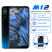 "Get more info on the LEAGOO M12 Mobile Phone 5.7"" HD+ Waterdrop Screen 2GB RAM 16GB ROM MT6739V 3000mAh 8MP Camera Android Smartphone"