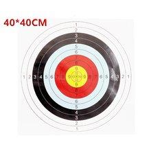 Novos adesivos de alvo de tiro para alvos de caça ao ar livre, usados para acessórios de paintball de tiro de longo alcance e próximo alcance