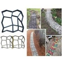 Garden Decoration DIY Path Maker Concrete Molds Cement Mold Concrete Cement Stone Walk Paving Paver Concrete Brick Mold cement garden