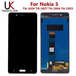 Pantalla LCD 100% probada para Nokia 5 TA-1024 TA-1027 TA-1044 TA-1053 pantalla LCD con montaje de pantalla táctil