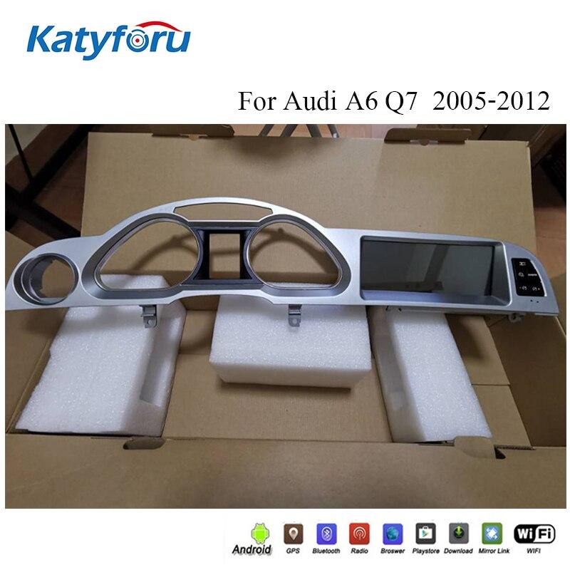 Android 10,0 Авторадио для audi A6 Q7 2005 2012 с 8 ядрами 4g ram 32 rom 8,8 дюймов 1280x480 ips экран GPS с carplay embeded|Мультимедиаплеер для авто|   | АлиЭкспресс
