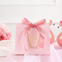 20pcs/lot Upscale European Creative Candy Bag French Wedding Favors Gift Box With ribbon Package Birthday Party Favor Bags