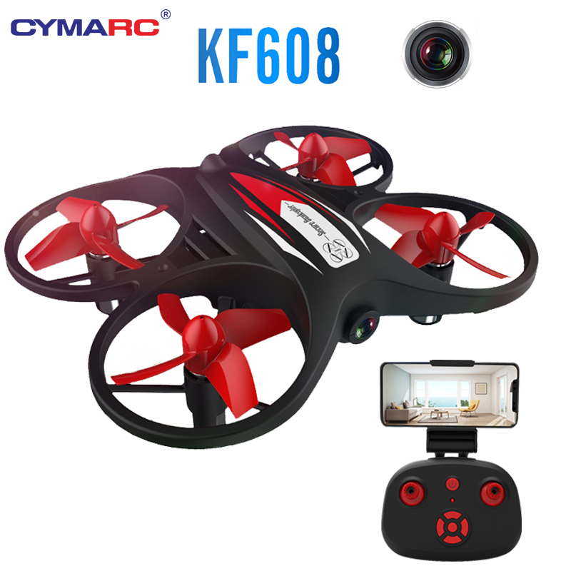 KF608 Mini RC Drone With 720P Wifi Camera Quadcopter Altitude Hold Headless Mode 3D Roll Speed Switch Mini RC Quadcopter Toys