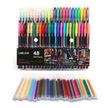 48 stcke farbe passenden Kunst Marker Pinsel Stift Skizze Alkohol Basierend Marker Zeichnung Stifte Kunst Liefert