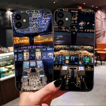 Stormfront funda de teléfono de silicona para iPhone, carcasa frontal de viaje para avión piloto, 11 Pro Max 12 Pro SE 2020 X XR XS MAX 6 6s 7 8 Plus|Fundas antigolpes para teléfono|   -