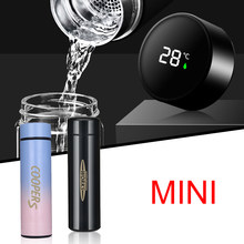 Car Double-Wall Insulated Vacuum Flask Stainless For Mini Cooper S one JCW clubman countryman R50 R52 R55 R56 R57 R58 R59 R60