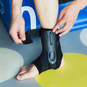 Image 4 - 1PC Ankle Support Strap Brace Bandage Foot Guard Protector Adjustable Ankle Sprain Orthosis Stabilizer Plantar Fasciitis Wrap