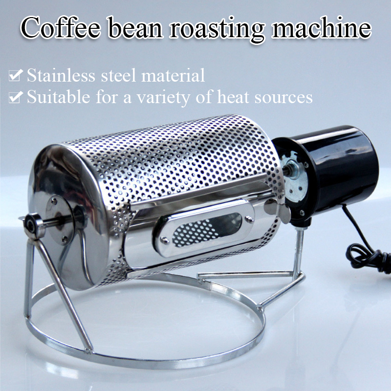mini home use electrical coffee bean roaster Coffee bean baking machine for sale small coffee roaster/Drum coffee roaster