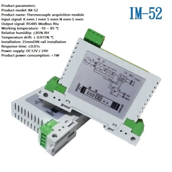 Thermocouple temperature acquisition module K/S/N/J/E/B/R couple RS485 temperature collection Modbus RTU
