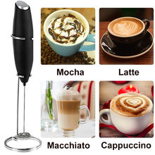 Mousseur à lait électrique automatique, machine à café portative, batteur à œufs, mousseur à lait, outil de cuisine Portable