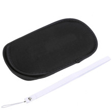1pc Screen Protector Soft Bag Shell Protector Carry Pouch For Sony PSP 1000 2000 3000 Game Accessory Bag car charger for psp 1000 2000 3000 110cm