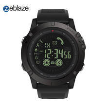 Hot Zeblaze VIBE 3 Flagship Rugged Smartwatch 33-month Standby Time 24h All-Weather Monitoring Smart Watch For IOS And Android(China)