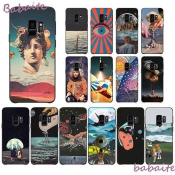 Babaite Vintage Trippy Art Books Aesthetic Phone Case for Samsung J2PRO J4 2018 J415 4PLUS 5 2016 5PRIME 6 2018 600 7 737 6PLUS image