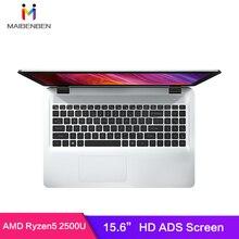 """Ноутбук MaiBenBen Damai E526 для офиса AMD Ryzen 5 2500U+ AMD Vega 8 graphics/8G ram/256G SSD+ 1 ТБ HHD/15,"""" HD TN экран нетбука"""