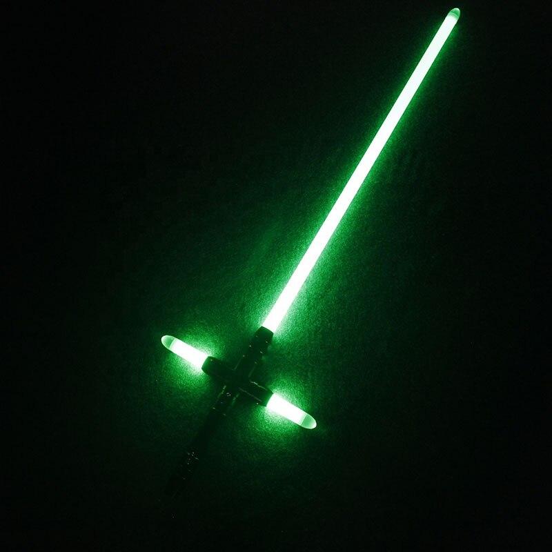 Lichtschwert YDD Metall Griff Kleine Kreuz Licht Saber Kraft FX Schwere Dueling LED Lichtschwert mit FOC Lock Up Luminous Spielzeug - 2