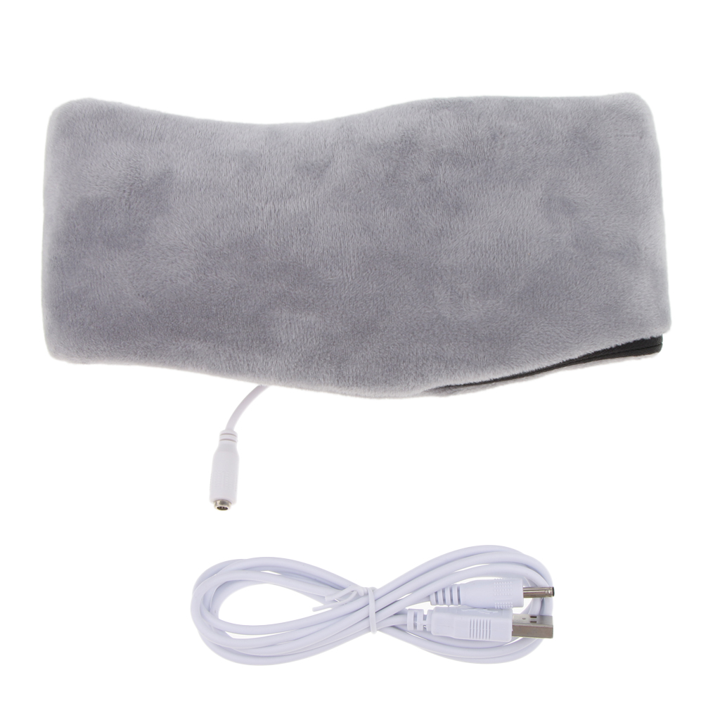 Heat Lavender Aromatherapy Neck Relax Muscle Sleep Pillow For Office Travel