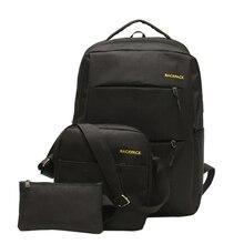 Рюкзак мужчины 42 см работа в офисе деловая сумка унисекс черный сверхлегкий тонкий рюкзак