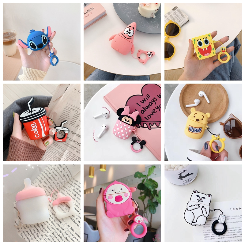 Candy Bottle Bluetooth Wireless Earphone Case For AirPods 1 2 Case Cover Sailor Moon Headphone Cases For Air Pods Protective Box