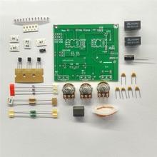 구성 요소로 분해 된 PCB QRM 제거기 X 상 (1 30 MHz) HF 밴드의 DIY 조립 키트