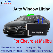 obd auto car window closer vehicle glass door sunroof opening closing module system no error car for chevrolet cruze accessories Auto Window Closer For Chevrolet Malibu 2009-2016 Glass Car Accessory Remote Controller OBD Automatic Sunroof Open plug and play