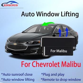 Auto Window Closer For Chevrolet Malibu 2009-2016 Glass Car Accessory Remote Controller OBD Automatic Sunroof Open plug and play