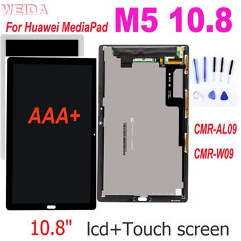 tempered glass for huawei mediapad m5 lite 8 0 8 4 10 10 1 10 8 btv w09 btv dl09 cmr al09 cmr w09 curved edge screen protector AAA+ 10.8 LCD For Huawei MediaPad M5 10.8 CMR-AL09 CMR-W09 LCD Display Touch Screen Digitizer Assembly for Huawei M5 10.8 LCD